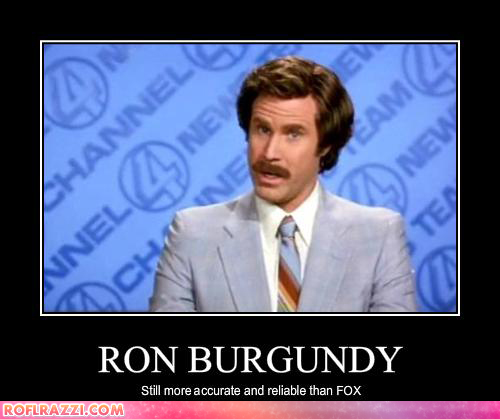 Funny Will Ferrell Ron Burgundy Still More Accurate And Reliable