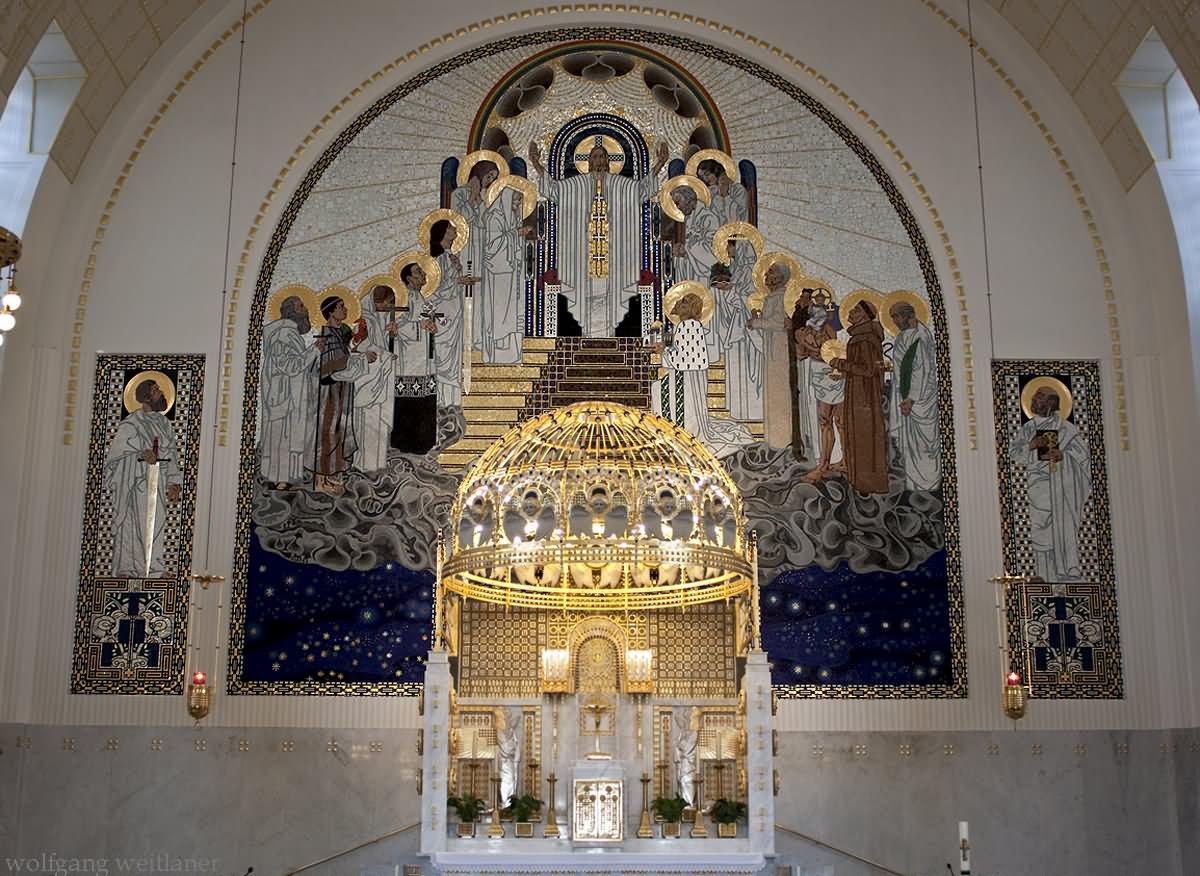 Wien Kirche Am Steinhof