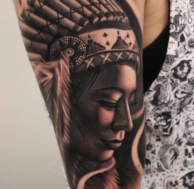 4 Native American Tattoo Ideas