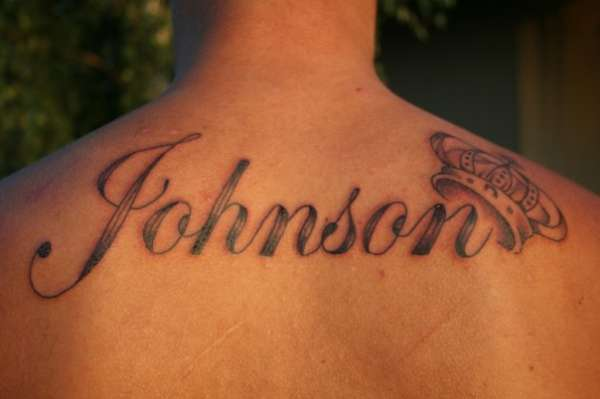 50 unique name tattoos for Names with crown tattoos