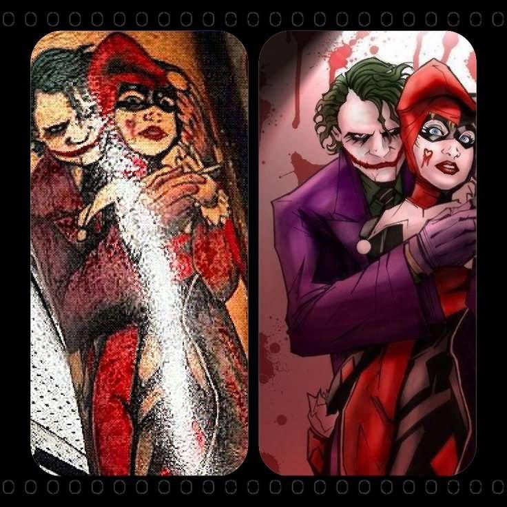 07a5ea573 Joker And Harley Quinn Tattoo Idea