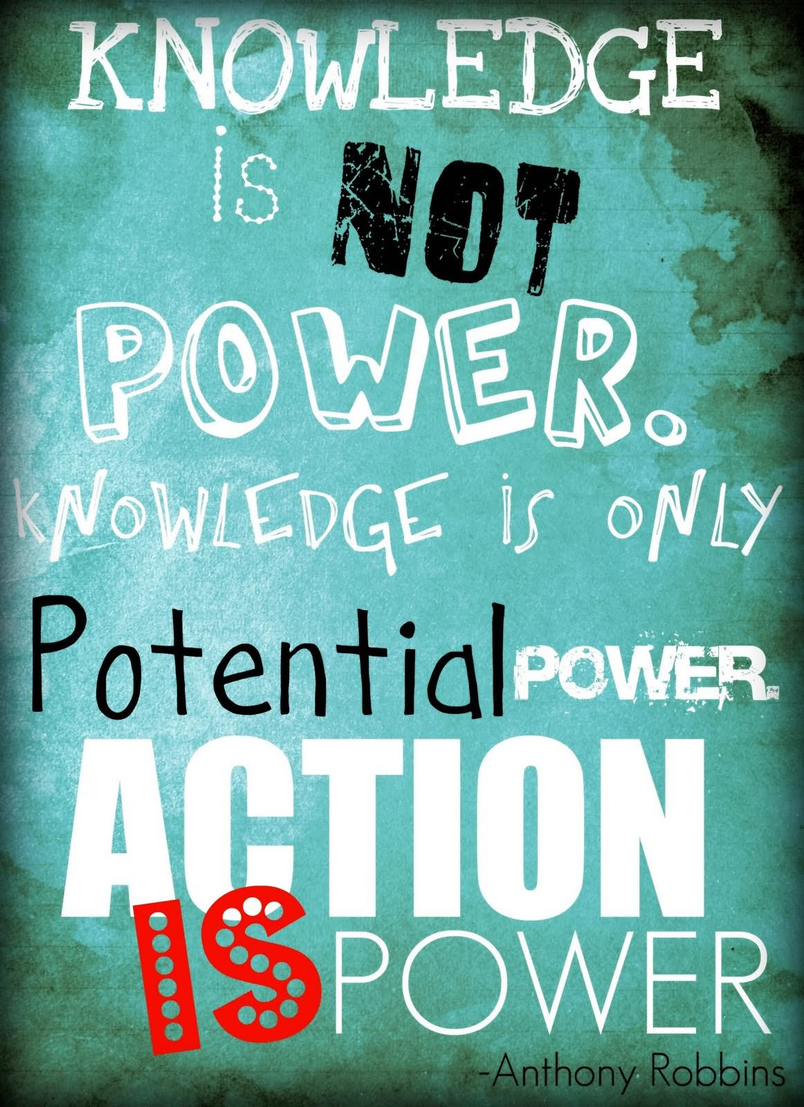 Image result for knowledge is power take action