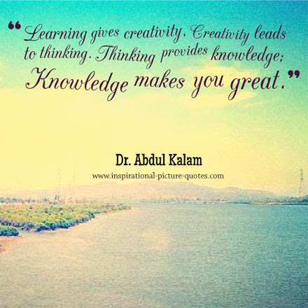 knowledge creativeness