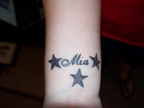 39 Name Tattoos On Wrist