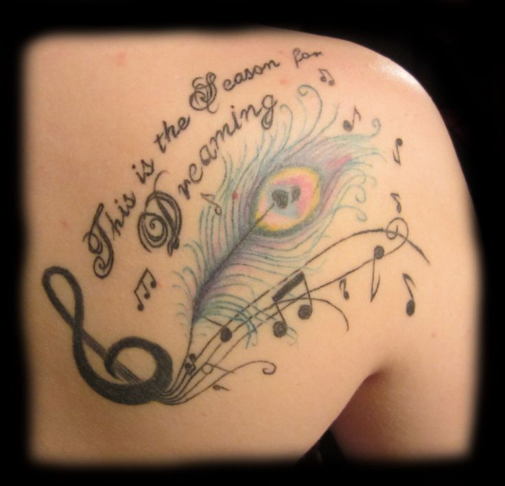 35 back shoulder tattoos for women for Gilded heart tattoo