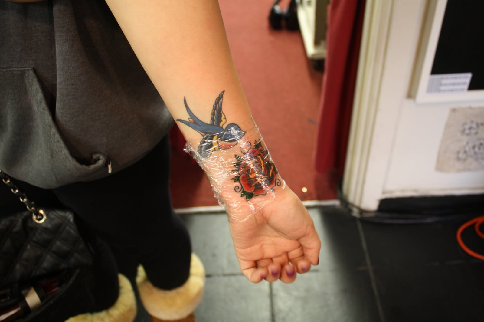 75+ Beautiful Sparrow Tattoos - photo#33
