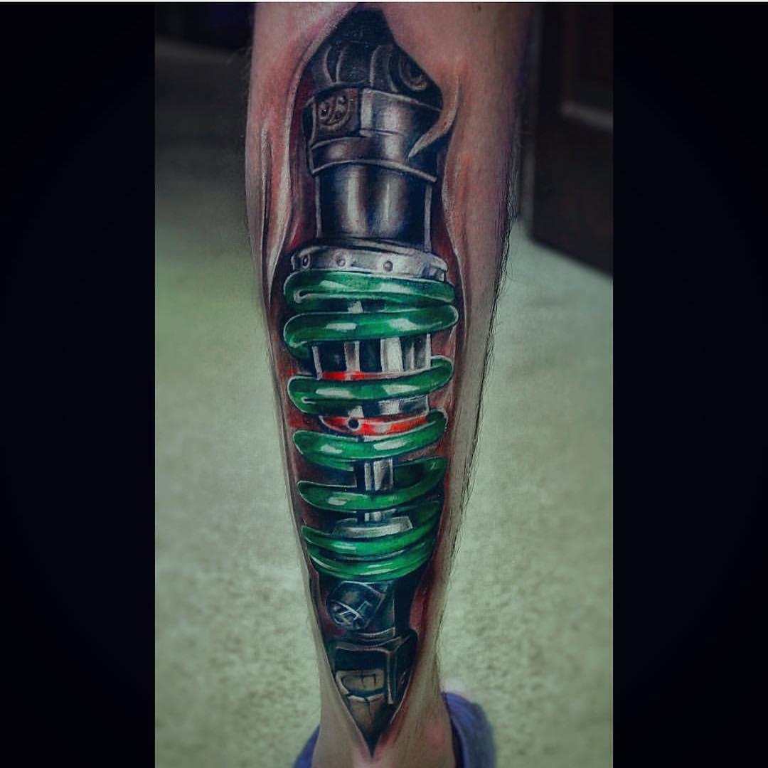 33+ Nice Side Calf Tattoos