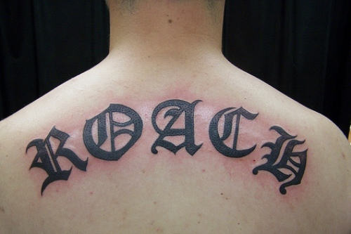 45 words neck tattoos for Tattoos with hidden words