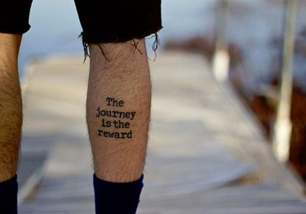 7 Famous Calf Quotes Tattoo