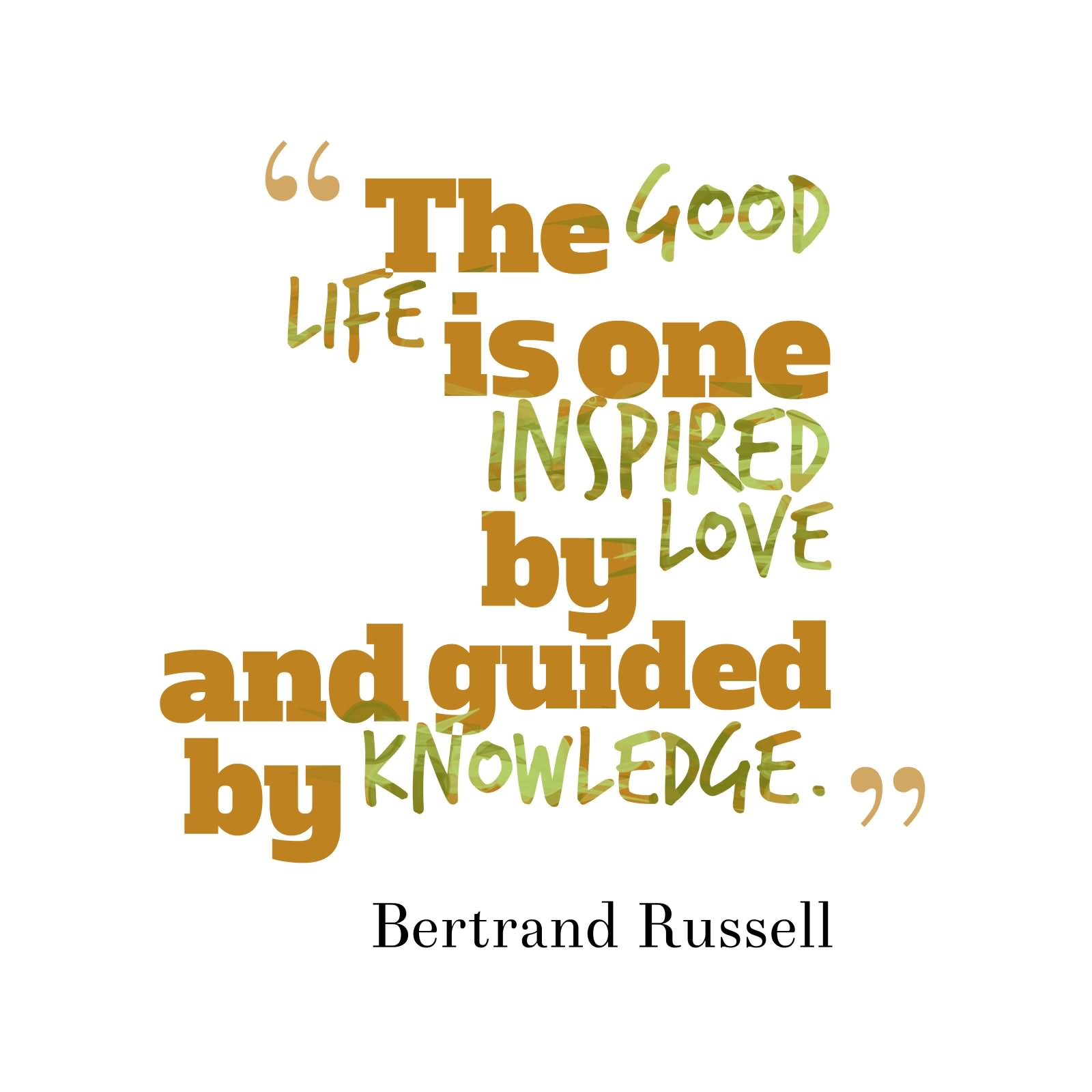 """the good life essay by bertrand russell Russell here's a wonderful quote i ran across this weekend about """"the good life""""  by bertrand russell this quote comes from his essay, what i."""
