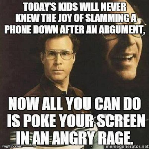 Todays Kids Will Never Knew The Joy Of Slamming A Phone Down After An Argument Funny Will Ferrell Photo 30 very funny will ferrell pictures and photos of all the time