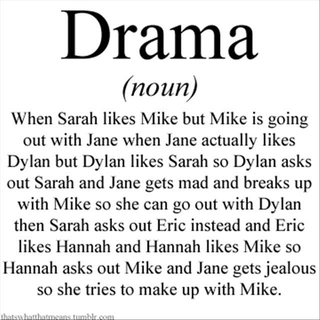 Definition Drama