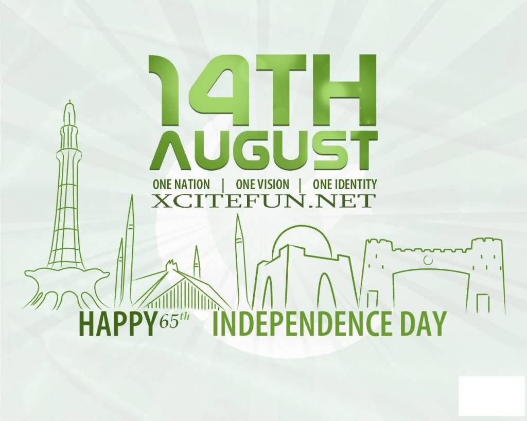 14th August Happy Independence Day Of Pakistan
