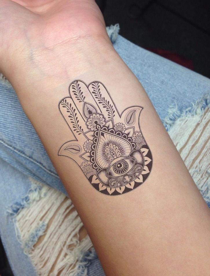 16 cool hamsa tattoos on wrist. Black Bedroom Furniture Sets. Home Design Ideas