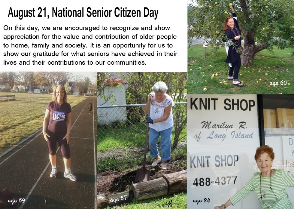 35 Wonderful Pictures Of National Senior Citizen Day United States