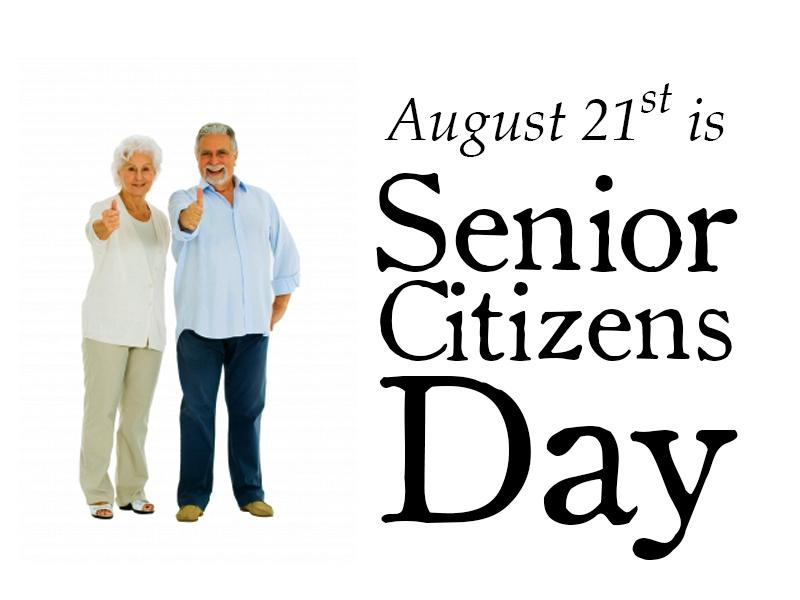 august 21st is senior citizen day