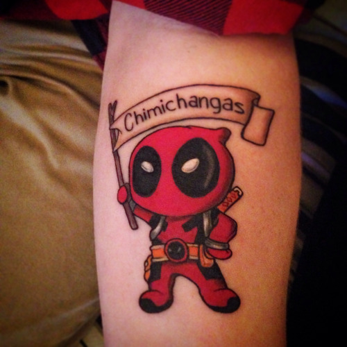 Gallery For gt Deadpool Tattoo