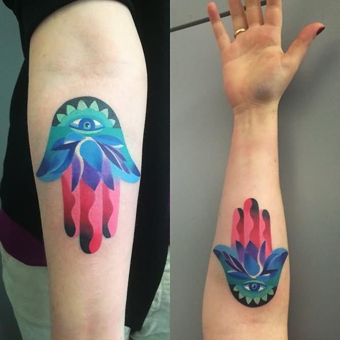 Tattoo Designs Unisex: 23+ Classic Hamsa Elephant Tattoos