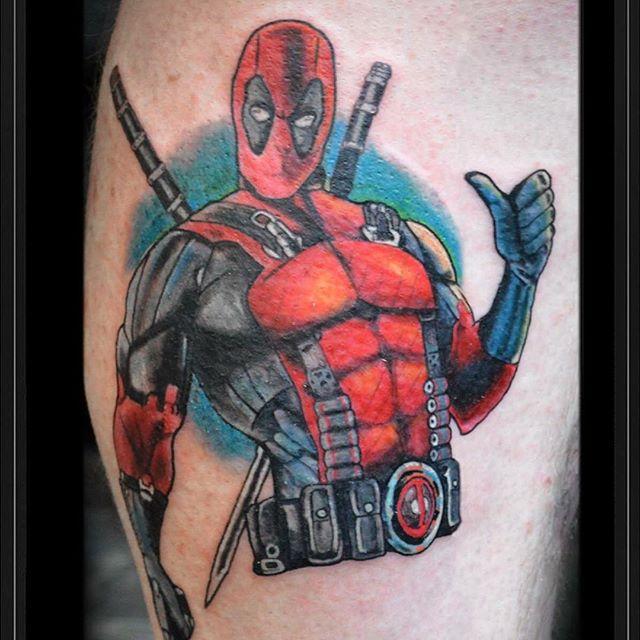 41 Awesome Deadpool Tattoos