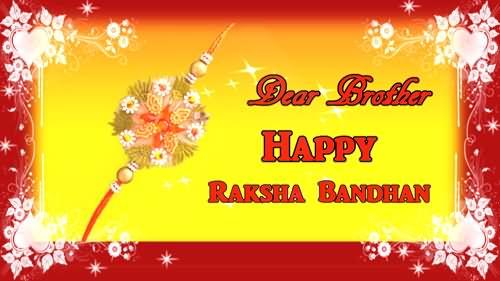50 beautiful raksha bandhan wishes and greetings for brother dear brother happy raksha bandhan greeting card m4hsunfo