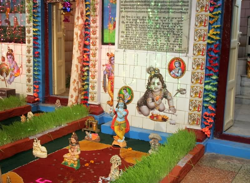 15 Incredible Krishna Janmashtami Decoration Pictures And Home Decorators Catalog Best Ideas of Home Decor and Design [homedecoratorscatalog.us]