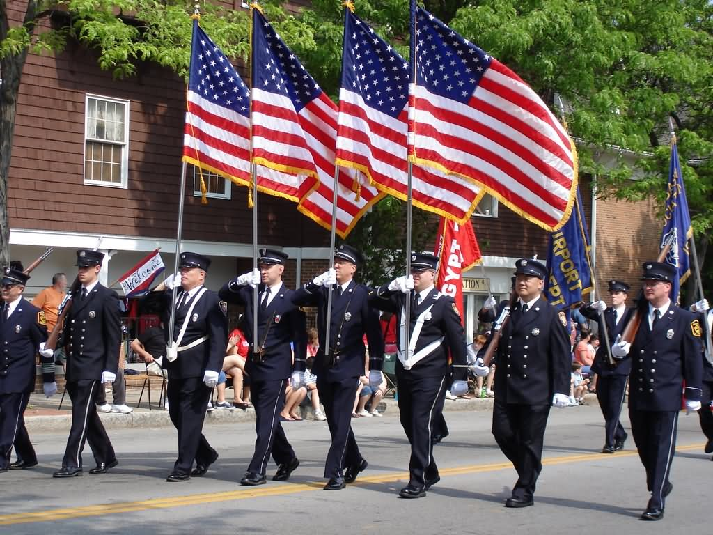 25+ Very Beautiful Flag Day Parade Pictures And Photos