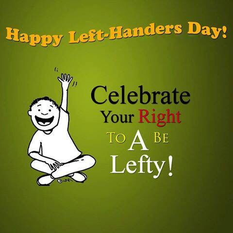 40 Wonderful International Left Handers Day Greeting Pictures
