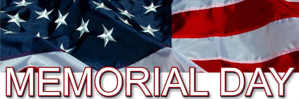 d4c62e68c457 Happy Memorial Day American Flag Facebook Cover Picture