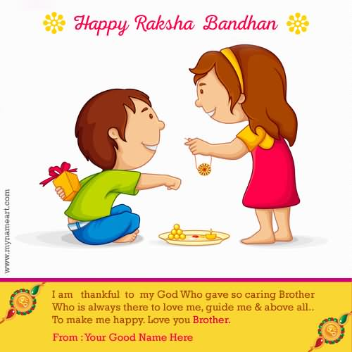 40 Awesome Rakhsha Bandhan Wish Pictures And Photos