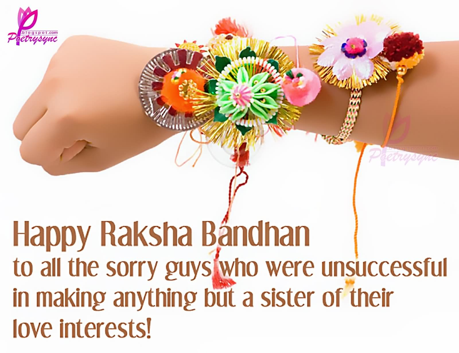 25 most beautiful rakshan bandhan wishes for sister images and photos happy raksha bandhan greetings for sister picture kristyandbryce Image collections