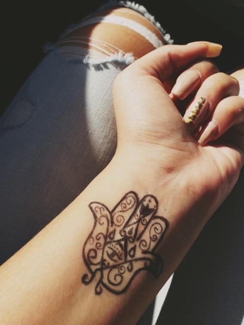 Hamsa Tumblr Tattoo