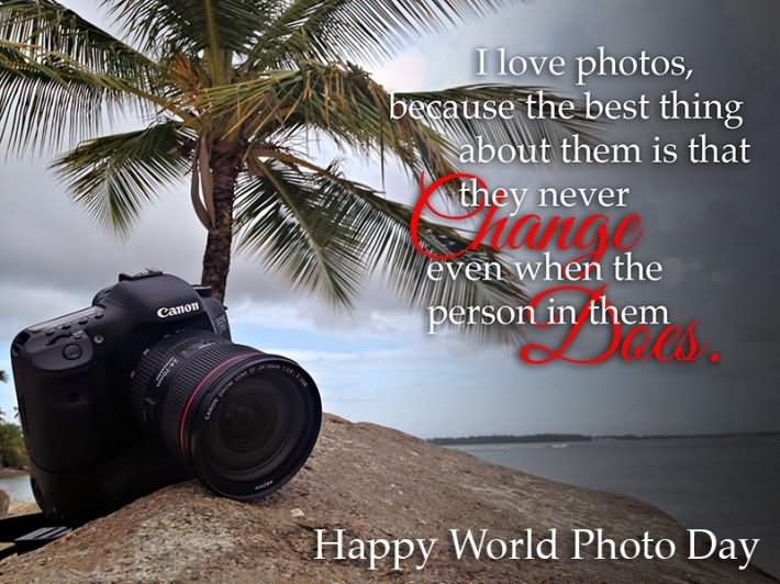 The Greatest Thing A Human Soul Ever Does In This World: 50 Most Wonderful World Photography Day Wish Pictures And