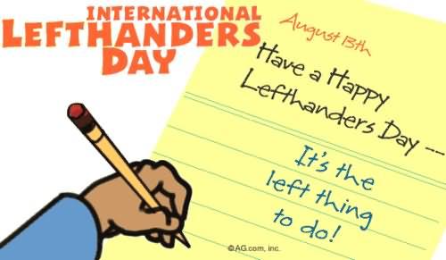 left handers day - photo #20
