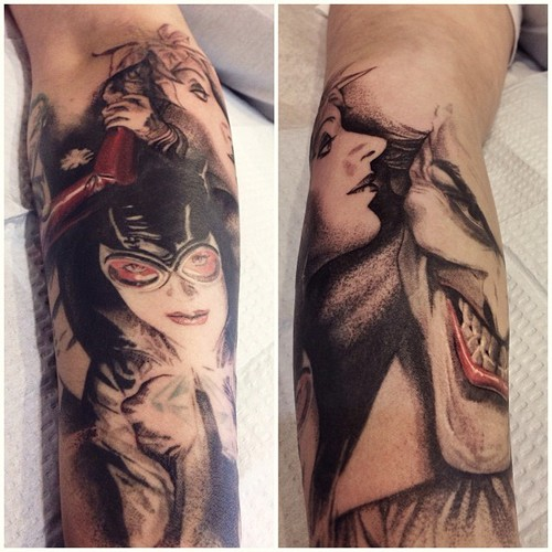 40 Harley Quinn Sleeve Tattoos