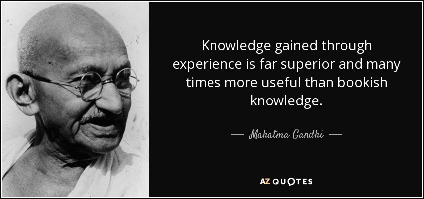knowledge gained books and knowledge gained experience Knowledge can be gained through various means, the most important being reading the books experinced is also one of the important factor to gained the indepth knowledge.