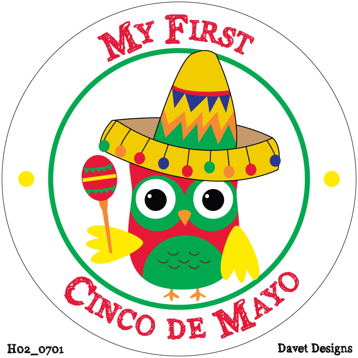 40 cinco de mayo 2016 greeting pictures and images my first cinco de mayo baby bird with sombrero and maracas picture kristyandbryce Gallery