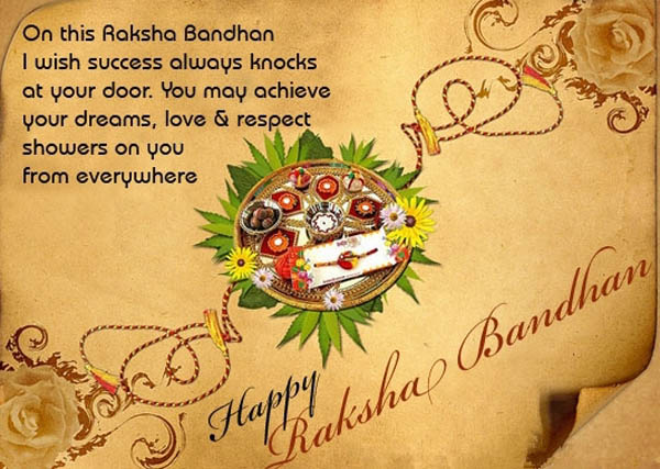 40 awesome rakhsha bandhan wish pictures and photos on this raksha bandhan i wish success always knocks at your door happy raksha bandhan m4hsunfo