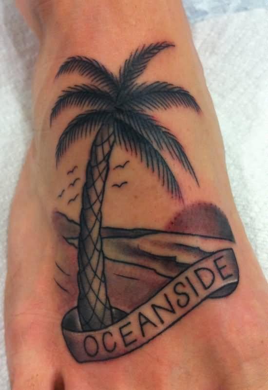 Tree Side Tattoo: 61+ Amazing Palm Tree Tattoos