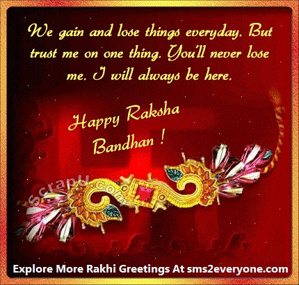 40 incredible raksha bandhan greeting pictures we gain and lose things everyday but trust me on one thing you m4hsunfo
