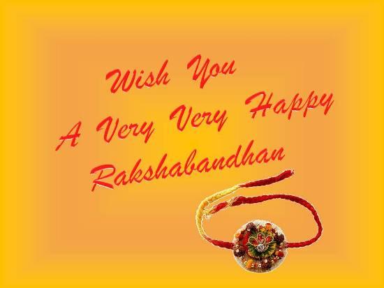 50 beautiful raksha bandhan wishes and greetings for brother wish you a very happy raksha bandhan my loving brother m4hsunfo