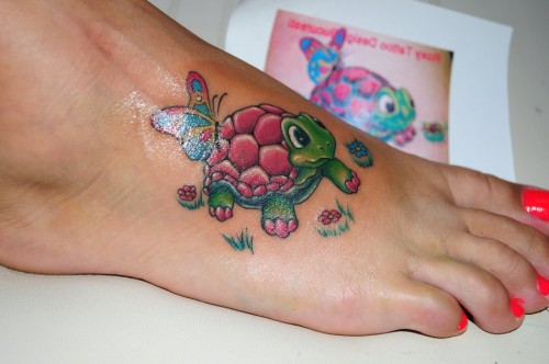 37 baby turtle tattoos