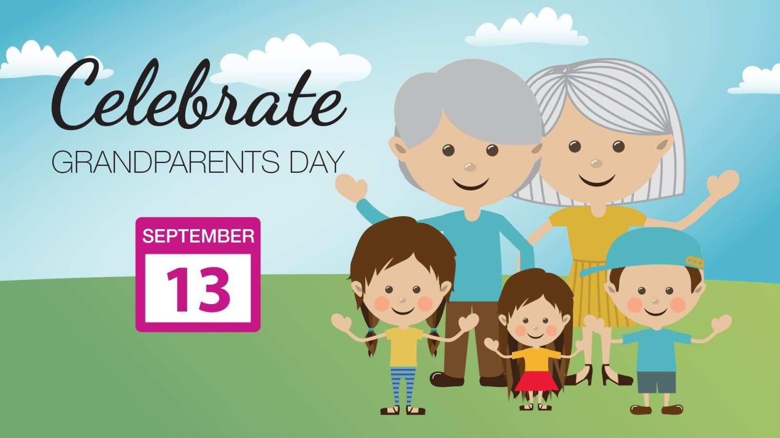 grandparents day song - HD1600×900