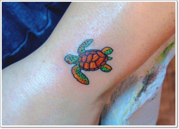 Turtle tattoo wrist - photo#9