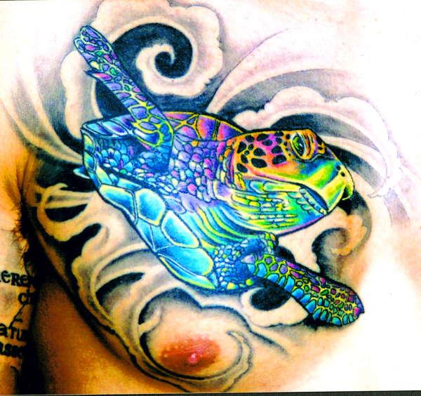 40 beautiful turtle tattoos ideas. Black Bedroom Furniture Sets. Home Design Ideas