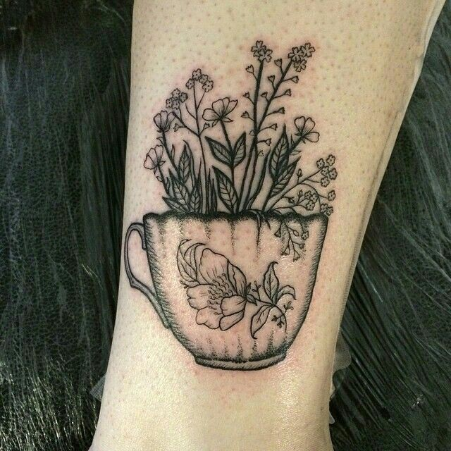 Legs In Teacup Tattoo Pictures to Pin on Pinterest - TattoosKid