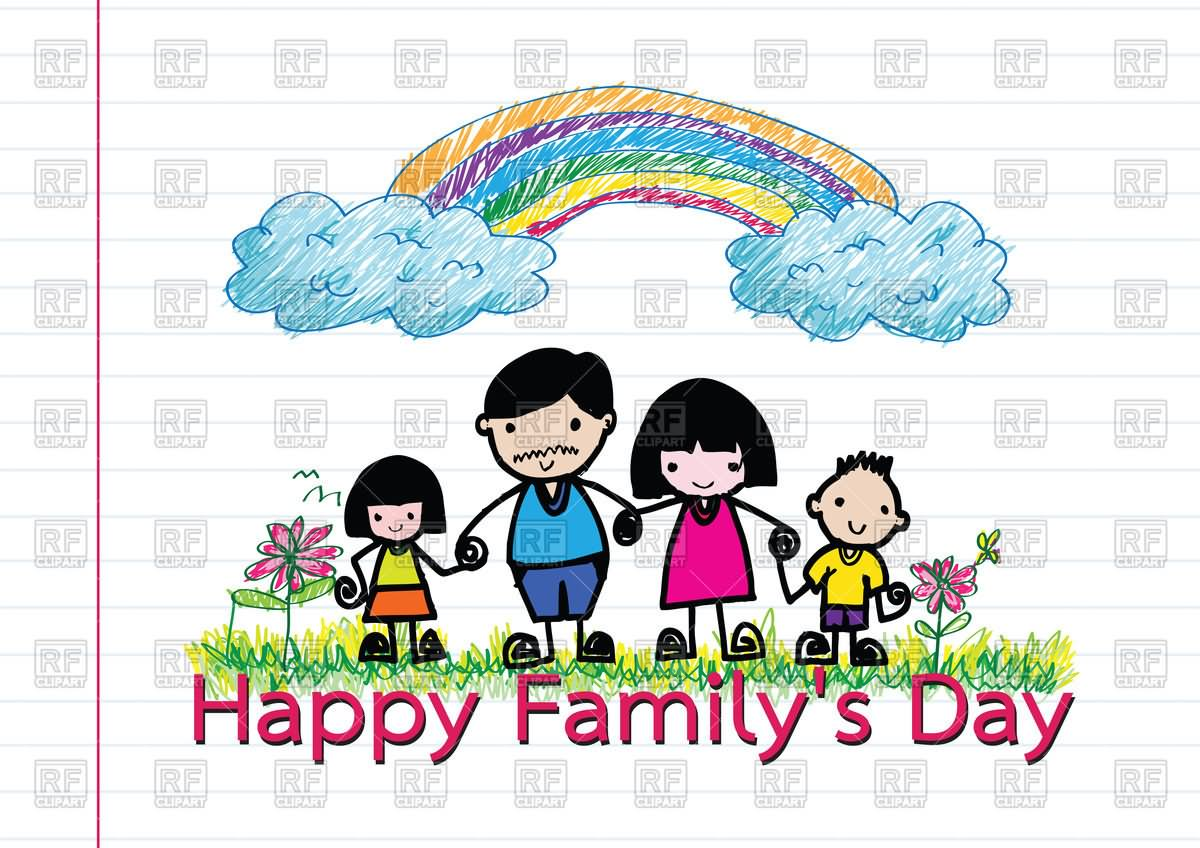 23 happy family day beautiful greeting card pictures happy family day hand made greeting card m4hsunfo