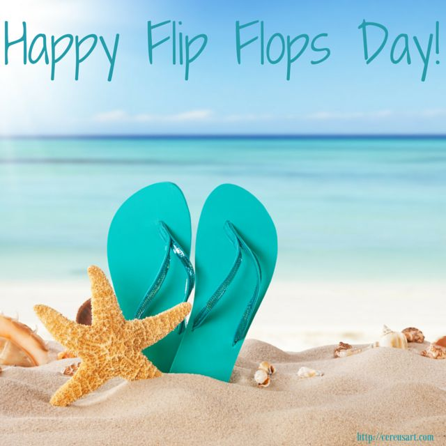 Happy National Hunting And Fishing Day: 30 Wonderful National Flip Flop Day Wishes Pictures And Images
