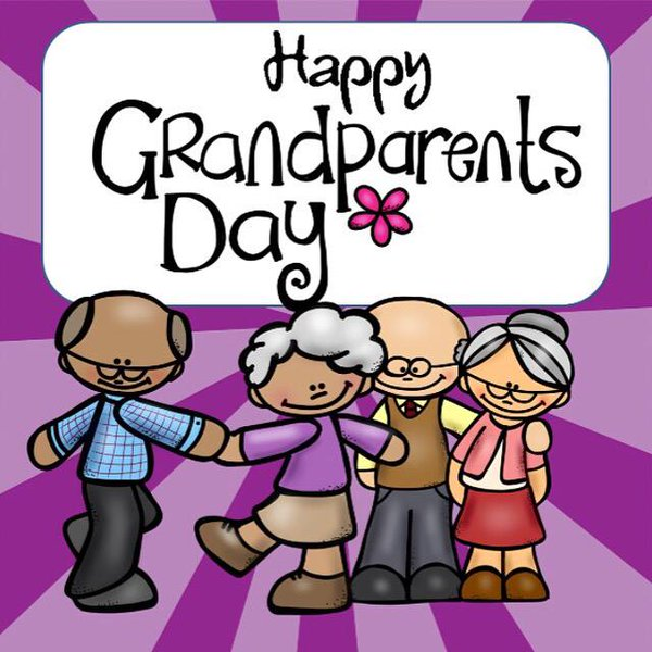 Image result for Grandparents day kids clipart free