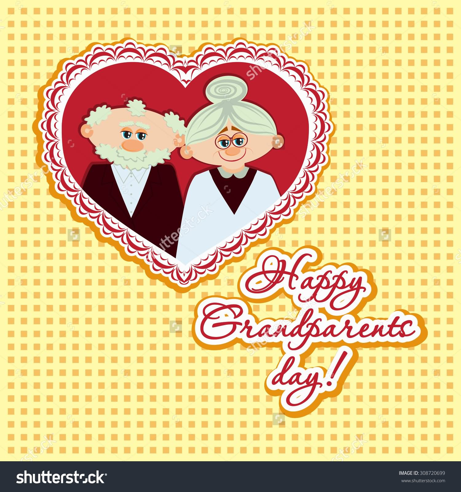 35 most beautiful grandparents day greeting card images happy grandparents day adorable greeting card kristyandbryce Gallery