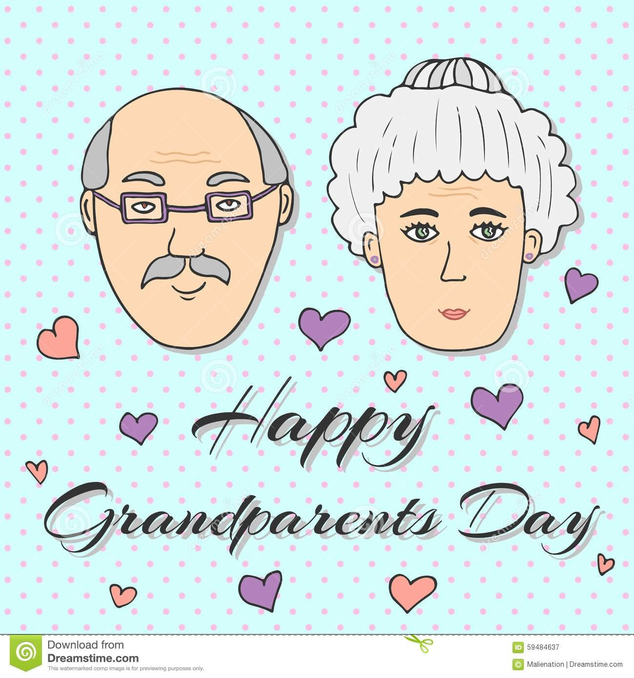 35 most beautiful grandparents day greeting card images happy grandparents day beautiful greeting card kristyandbryce Choice Image